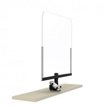 Plexi-Glass με POS Ασπίδα Προστασίας ταμείων
