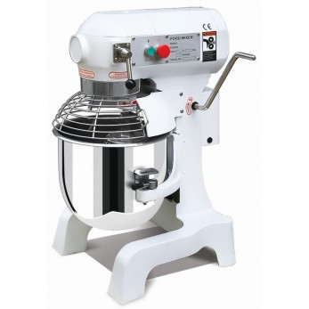B10B Mixer Ζαχαροπλαστικής 10 λίτρων λευκό