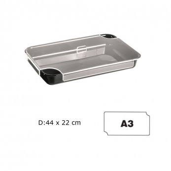 Transparent tray cover Α3 44x22
